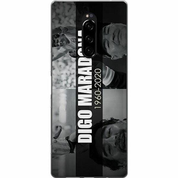 Sony Xperia 1 Mjukt skal - Diego Maradona