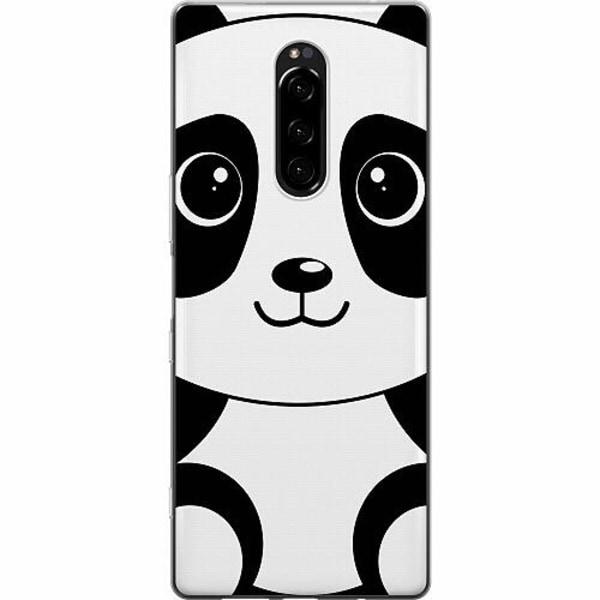Sony Xperia 1 Mjukt skal - Panda