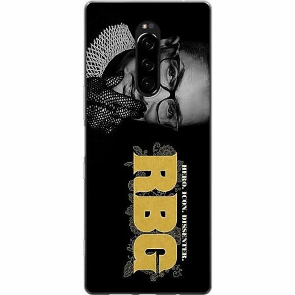 Sony Xperia 1 Mjukt skal - Ruth Bader Ginsburg (RBG)