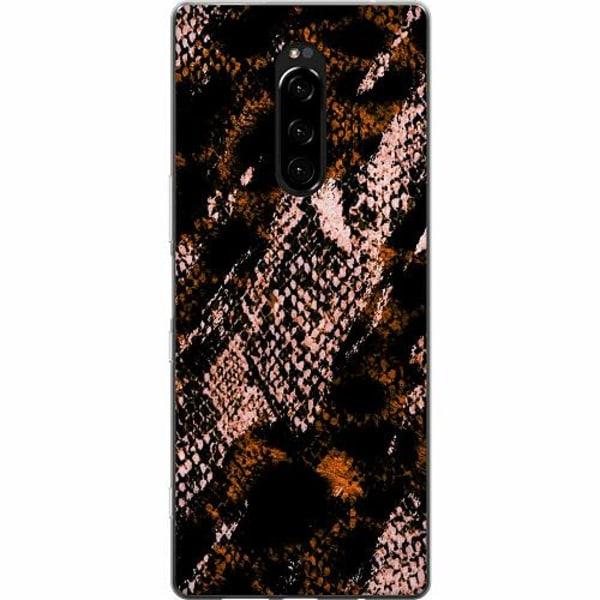 Sony Xperia 1 Mjukt skal - Snakeskin B