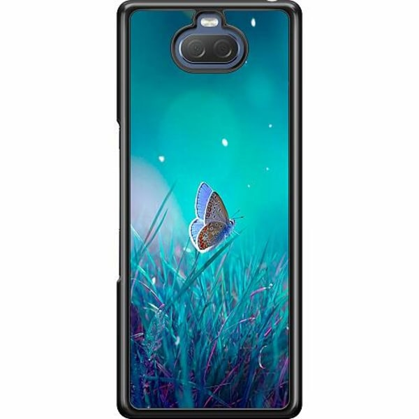 Sony Xperia 10 Hard Case (Svart) Magical Butterfly