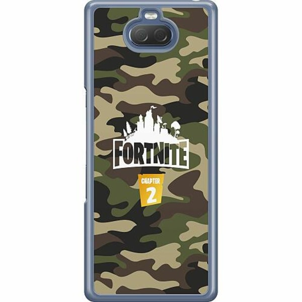 Sony Xperia 10 Hard Case (Transparent) Fortnite Chapter 2