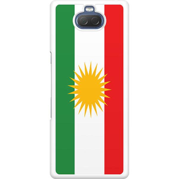 Sony Xperia 10 Hard Case (Vit) Kurdistan