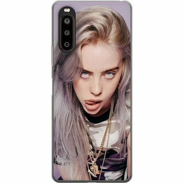 Sony Xperia 10 II TPU Mobilskal Billie Eilish 2021
