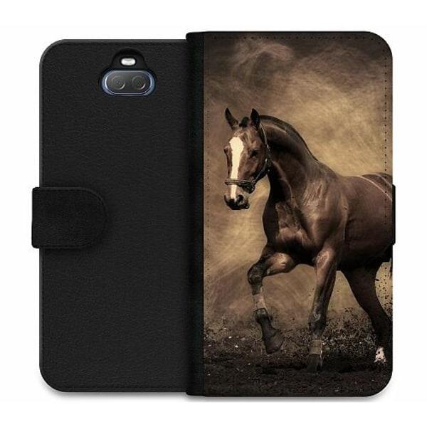Sony Xperia 10 Plus Wallet Case Häst / Horse