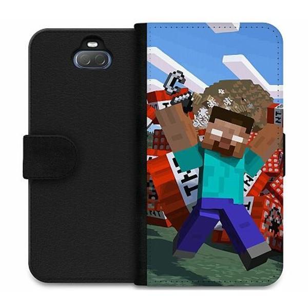Sony Xperia 10 Plus Wallet Case MineCraft