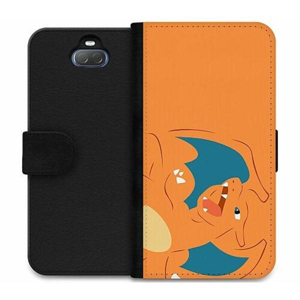 Sony Xperia 10 Plus Wallet Case Pokémon - Charizard