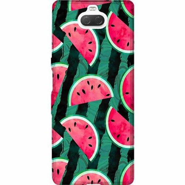 Sony Xperia 10 Thin Case Crazy for Watermelon