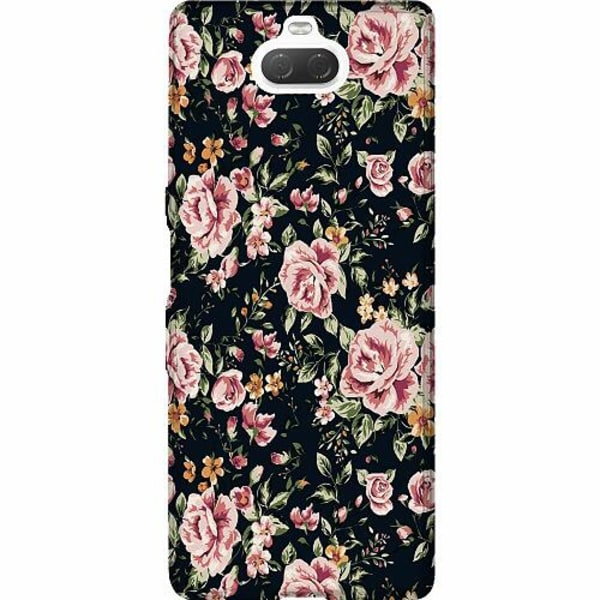 Sony Xperia 10 Thin Case Flowers