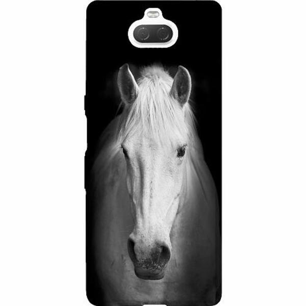 Sony Xperia 10 Thin Case Vit Häst