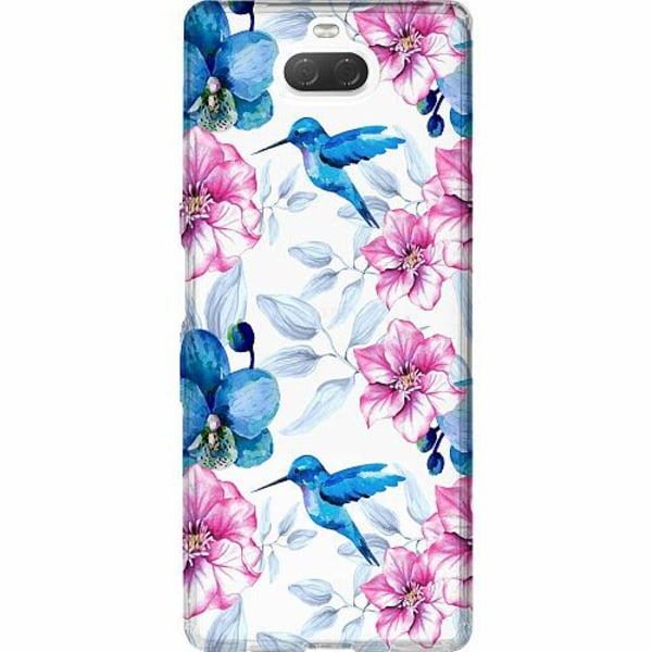Sony Xperia 10 Thin Case Blommor