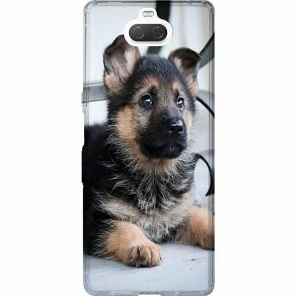 Sony Xperia 10 Thin Case Schäfer Puppy
