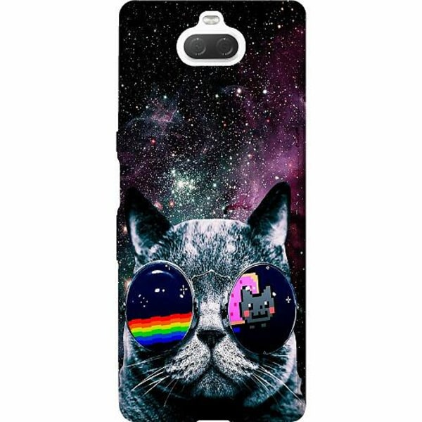 Sony Xperia 10 Thin Case Space Cat