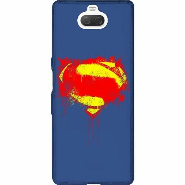 Sony Xperia 10 Thin Case Superman Splat