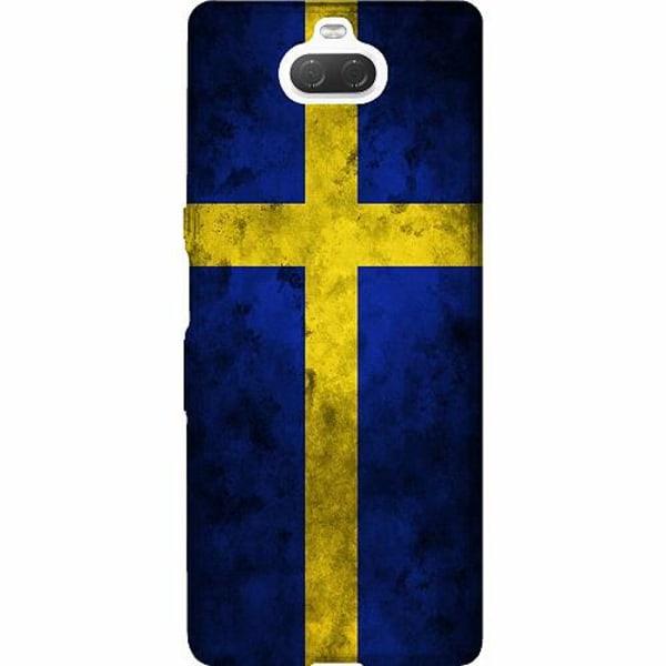 Sony Xperia 10 Thin Case Sverige Flagga