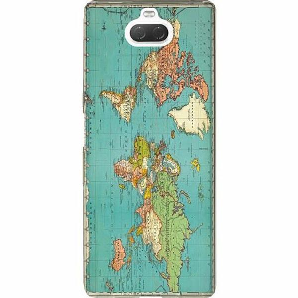 Sony Xperia 10 Thin Case World Map