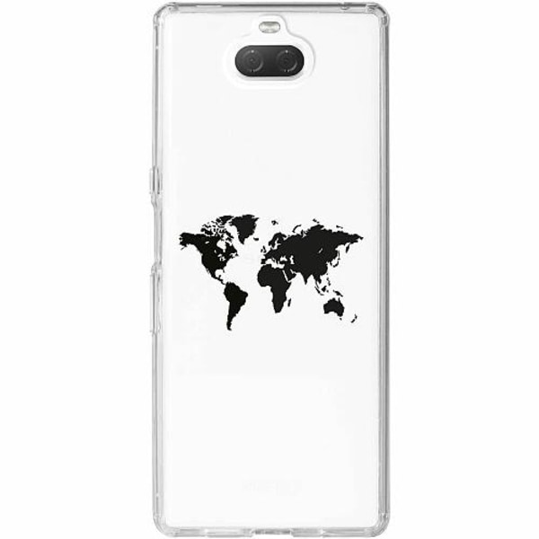 Sony Xperia 10 Thin Case World Map pt.2