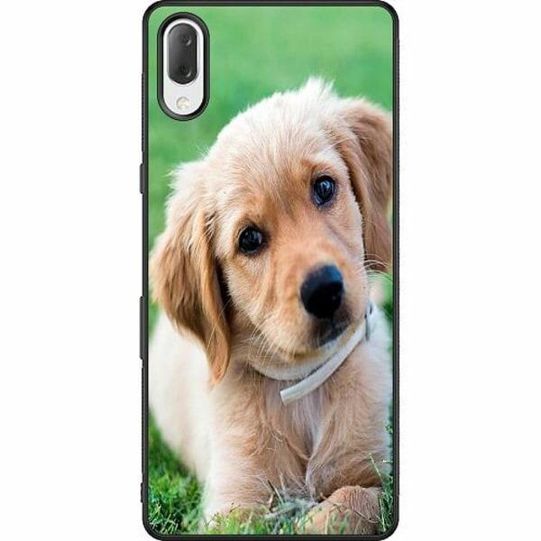Sony Xperia L3 Soft Case (Svart) Hund