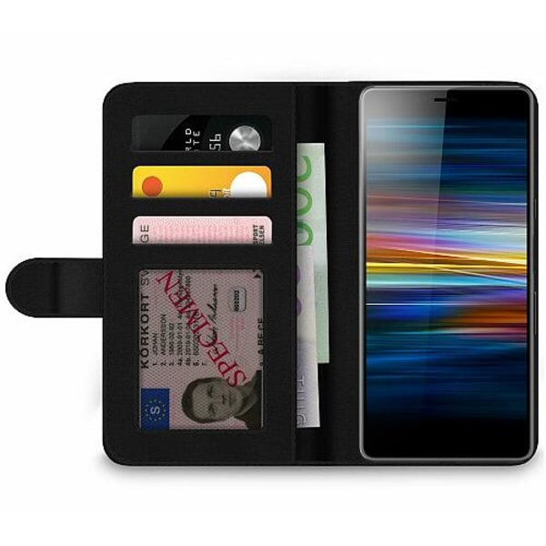 Sony Xperia L3 Wallet Case MineCraft
