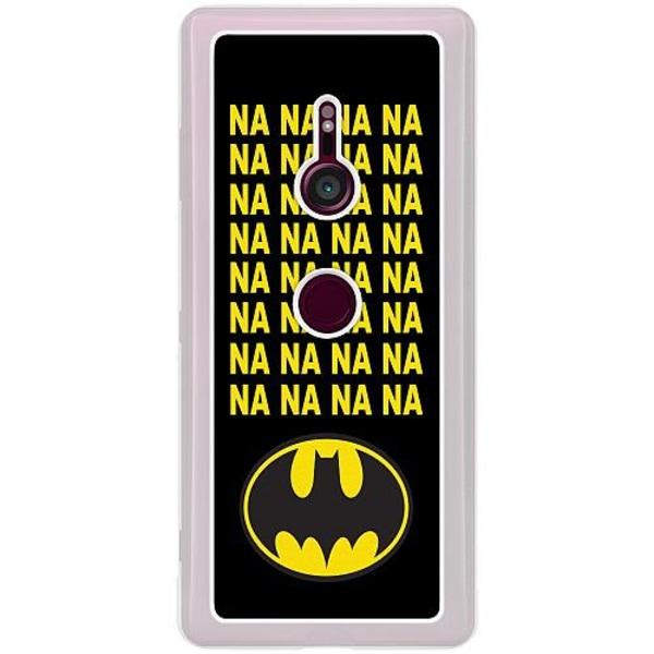 Sony Xperia XZ3 Transparent Mobilskal Batman
