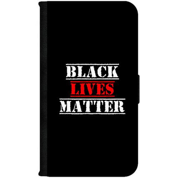 Huawei P40 Lite E Plånboksfodral Black Lives Matter