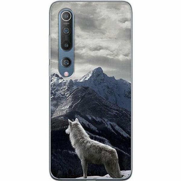 Xiaomi Mi 10 Thin Case Wolf / Varg