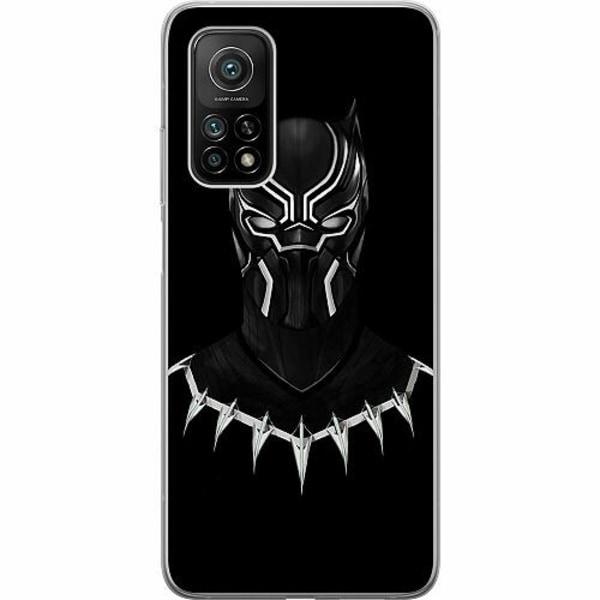 Xiaomi Mi 10T Mjukt skal - Black Panther