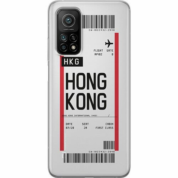 Xiaomi Mi 10T Pro 5G Thin Case BOARDING PASS - HKG