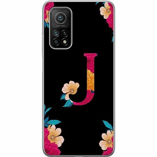 Xiaomi Mi 10T Pro 5G Mjukt skal - Bokstaven - J