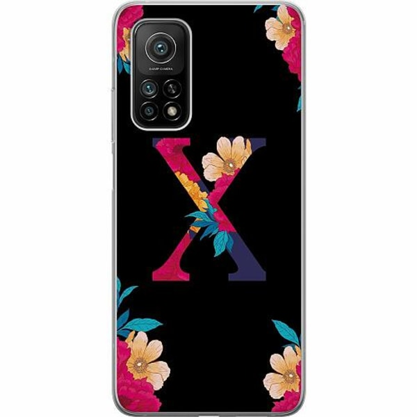 Xiaomi Mi 10T Pro 5G Mjukt skal - Bokstaven - X