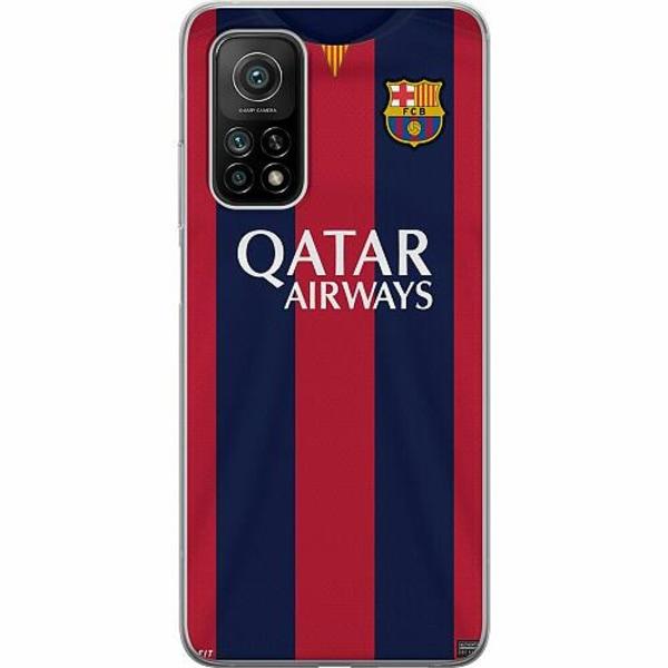 Xiaomi Mi 10T Pro 5G Mjukt skal - FC Barcelona