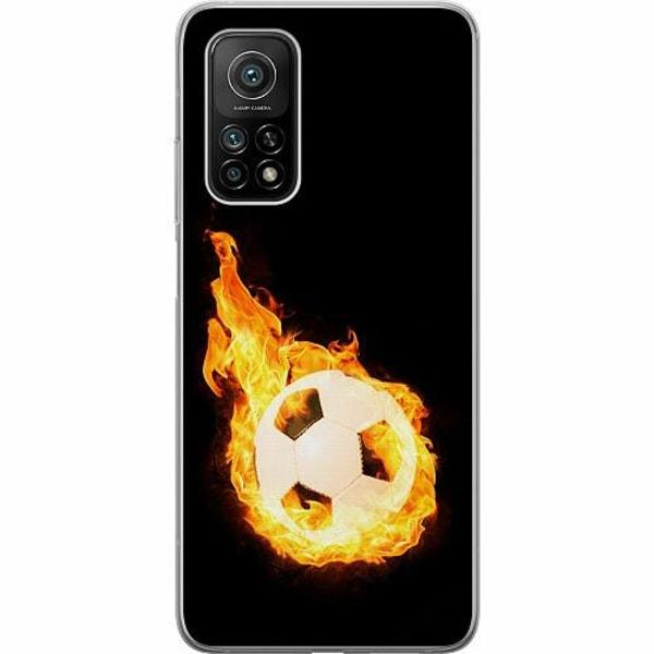 Xiaomi Mi 10T Pro 5G Mjukt skal - Fire Fotball
