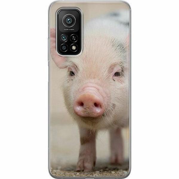 Xiaomi Mi 10T Pro 5G Mjukt skal - Happy Pig