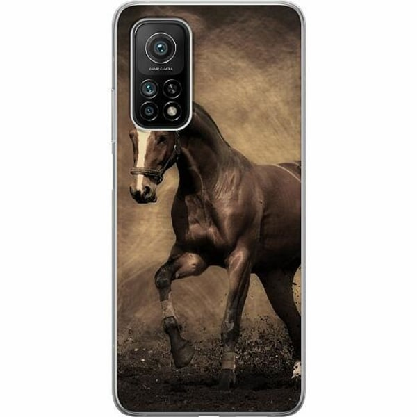Xiaomi Mi 10T Mjukt skal - Häst / Horse