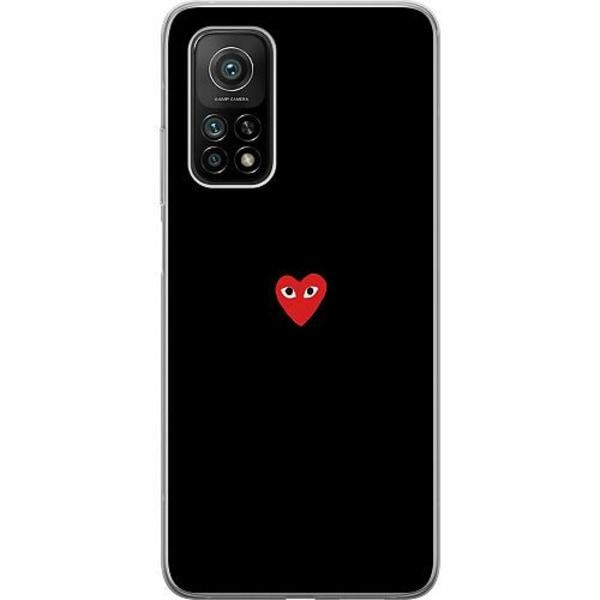 Xiaomi Mi 10T Pro 5G Mjukt skal - Heart