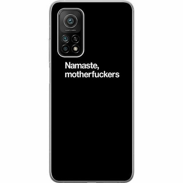 Xiaomi Mi 10T Pro 5G Mjukt skal - Namaste, motherfuckers