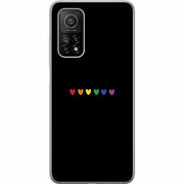 Xiaomi Mi 10T Pro 5G Mjukt skal - Pride Hearts