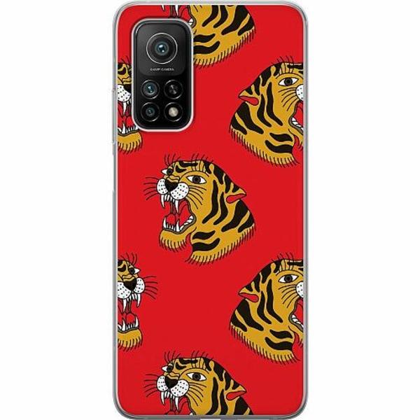 Xiaomi Mi 10T Pro 5G Mjukt skal - Red Tiger