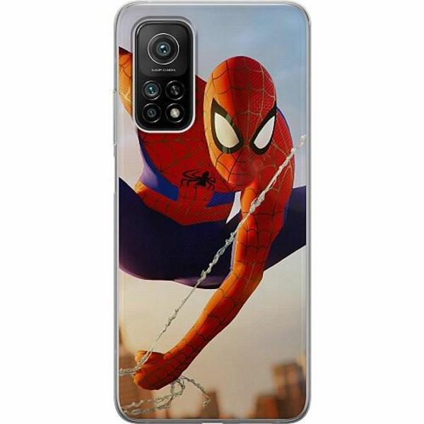 Xiaomi Mi 10T Pro 5G Mjukt skal - Spiderman