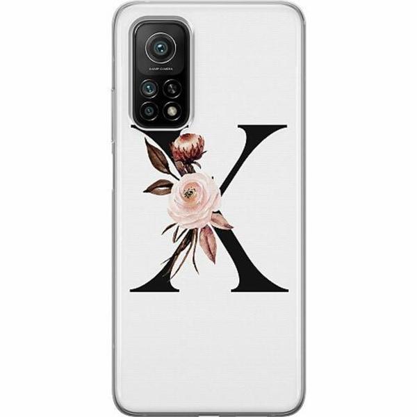 Xiaomi Mi 10T Mjukt skal - Bokstäver
