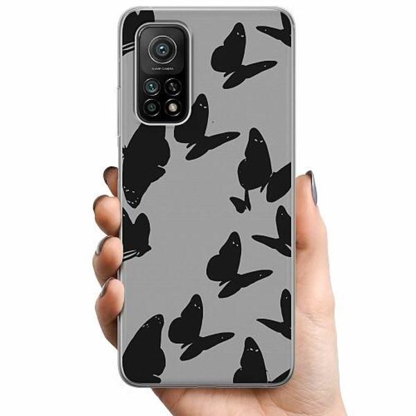 Xiaomi Mi 10T Pro 5G TPU Mobilskal Dark Butterflies