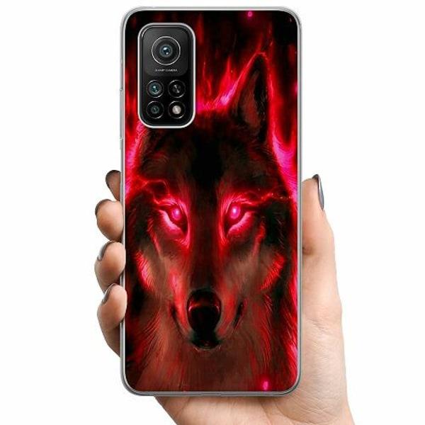 Xiaomi Mi 10T Pro 5G TPU Mobilskal Statement Wolf 1055