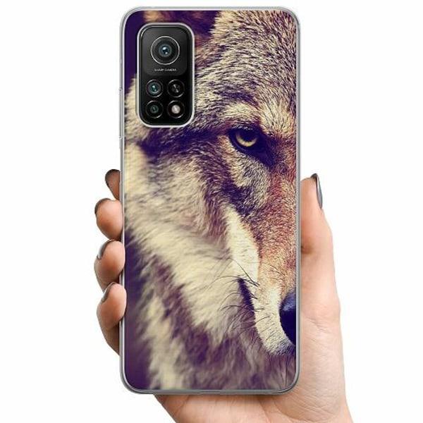 Xiaomi Mi 10T Pro 5G TPU Mobilskal Wolf / Varg