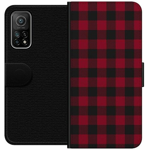 Xiaomi Mi 10T Pro 5G Wallet Case Checkered Flannel