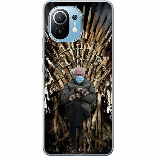Xiaomi Mi 11 Mjukt skal - Bernie Sanders Meme