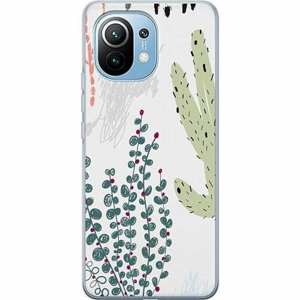 Xiaomi Mi 11 Mjukt skal - Cactus Or Cacti