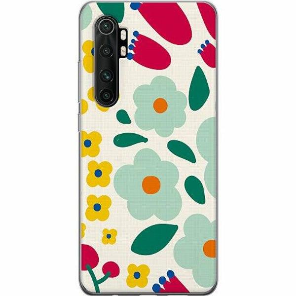Xiaomi Mi Note 10 Lite Thin Case Baby Flowers