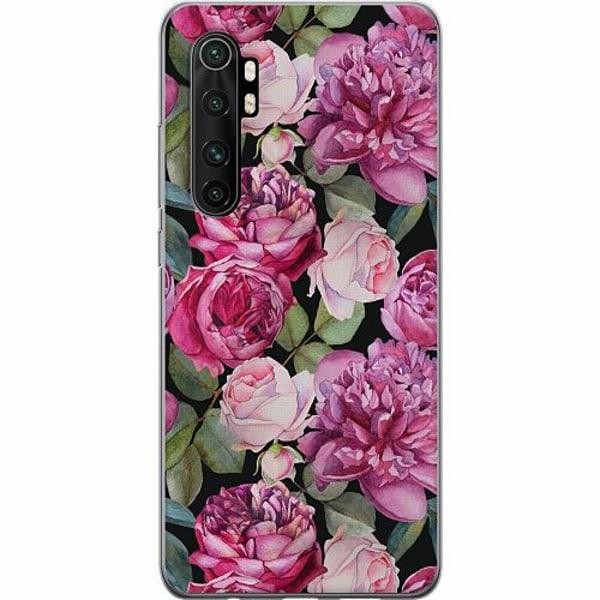 Xiaomi Mi Note 10 Lite Thin Case Purple Florals