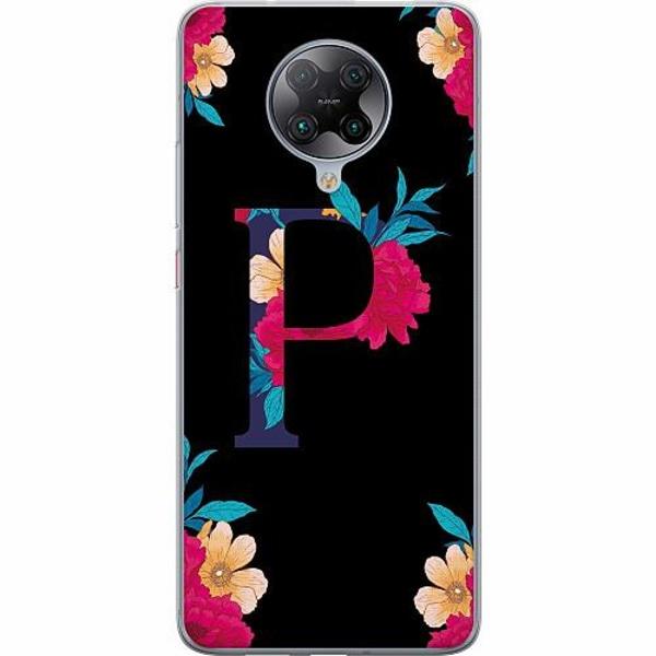 Xiaomi Poco F2 Pro TPU Mobilskal Bokstaven - P