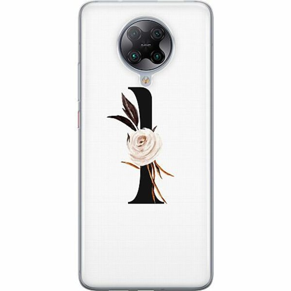 Xiaomi Poco F2 Pro TPU Mobilskal Bokstäver